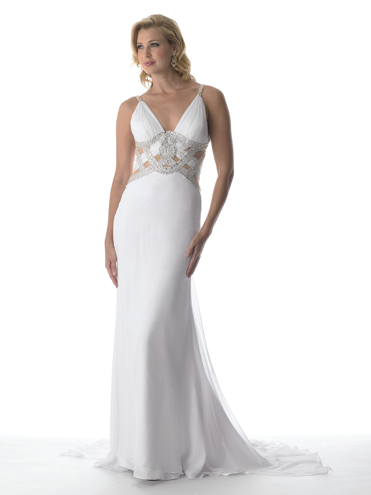 White Pageant Dresses