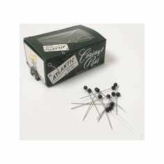 "1 1/2"" Black <br>Boutonniere Pins <br>144/Box"