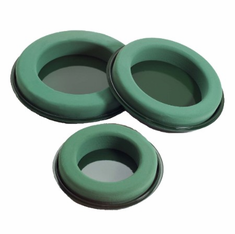 "10 1/2"" Design Rings<br>OASIS Floral Foam <br>2/Package"