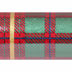 "20"" x 30' Poly Foil <br>Scottish Plaid"