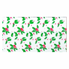 "24"" x 50' Cellophane <br>Holly Berry <br>Green"