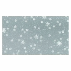 "24"" x 50' Cellophane <br>Snowflakes"