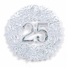 25th Anniversary Picks <br>Silver <br>12/Package
