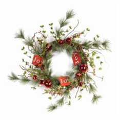 "29"" Pine Wreath <br>w/Tag"