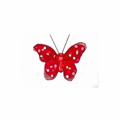 "3"" Valentine Butterfly<br>12/Package"