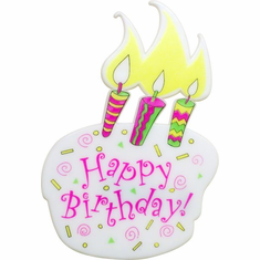 "4"" Birthday Cake Picks<br>12/Package"