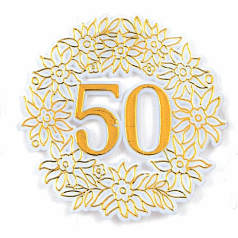 50th Anniversary Picks <br>Gold <br>12/Package