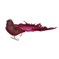 "6"" Sequin Curly Bird <br>6 Pieces/Box"