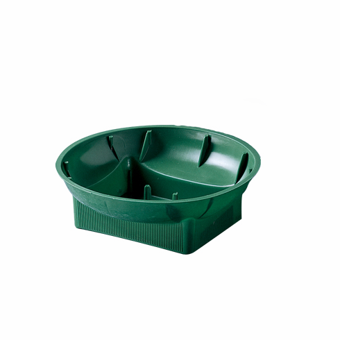 "6"" Single Design Bowls<br>Green - 48/Case"