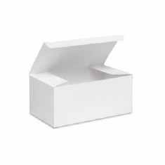 "9"" Corsage Boxes - White <br>100/Case"