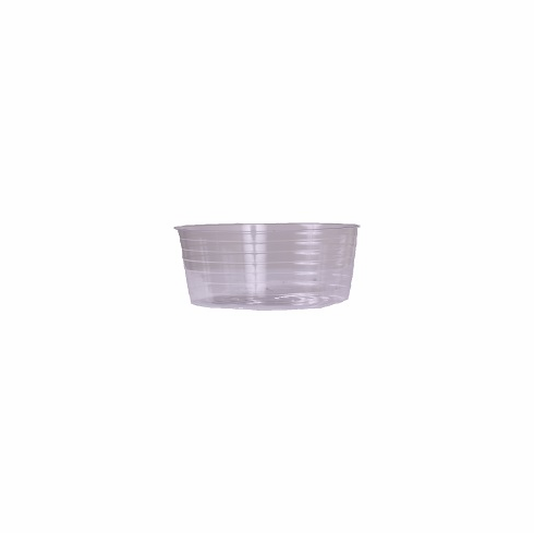 "9"" Round Clear Plastic <br>Liners - 25/Pkg"