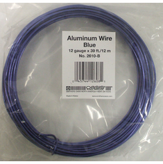 Aluminum Wire <br>12 gauge x 39 ft. <br>Blue
