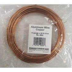 Aluminum Wire <br>12 gauge x 39 ft. <br>Copper