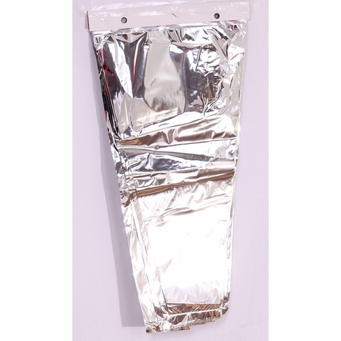 """Bouquet Silver<br> Backed Sleeves<br>13""""x25""""x4""""<br>100/Package"""