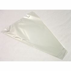 "Clear Bouquet Sleeves<br>12"" x 16"" x 3"""
