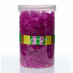 Crushed Glass Ice <br>Dark Pink <br>46 oz