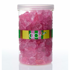 Crushed Glass Ice <br>Pink <br>46 oz