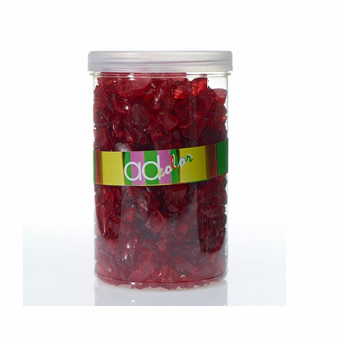 Crushed Glass Ice - Red - 46 oz
