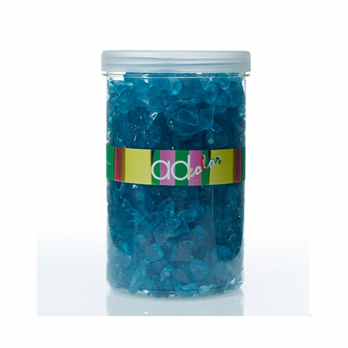 Crushed Glass Ice <br>Turquoise <br>46 oz
