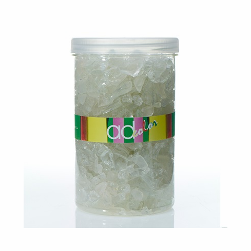 Crushed Glass Ice <br>White <br>46 oz