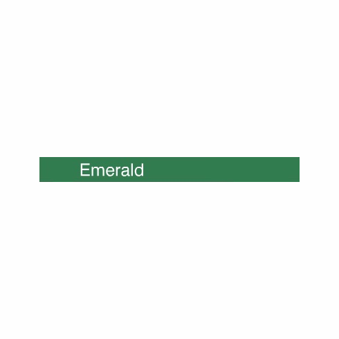 "Curling Ribbon <br>Emerald Green <br>3/16"" x 500 yards"