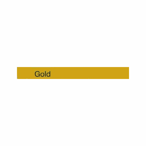 "Curling Ribbon <br>Gold <br>3/16"" x 500 yards"