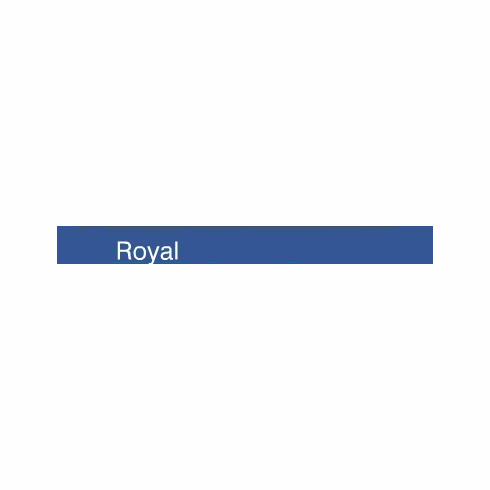 "Curling Ribbon <br>Royal Blue <br>3/16"" x 500 yards"