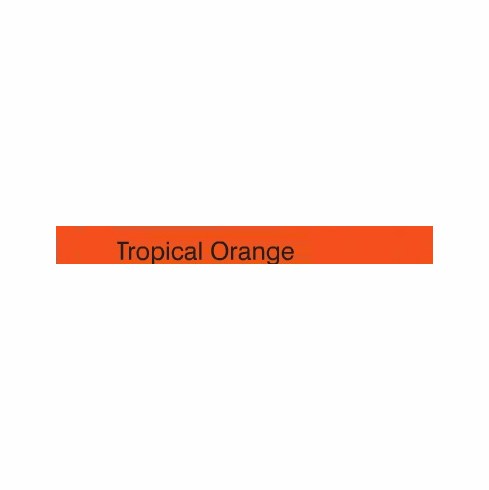 "Curling Ribbon <br>Tropical Orange <br>3/16"" x 500 yards"