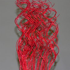 Curly Glitter Ting Ting <br>4 oz. - Red