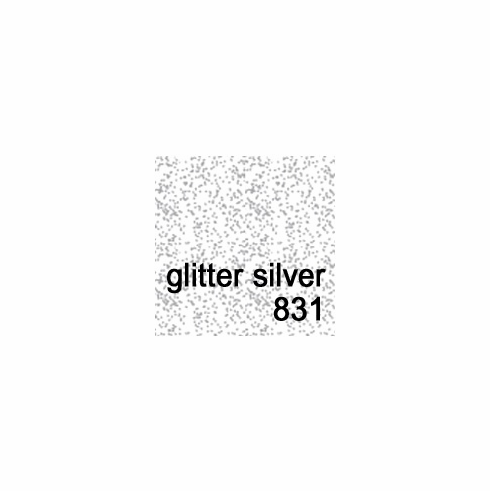 Design Master <br>Glitter Spray  5.5 oz. <br> Silver