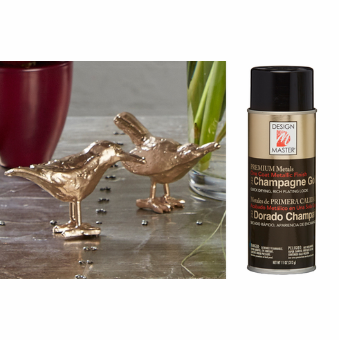 Design Master <br>Metallic Spray 5.5 oz. <br>Champagne Gold