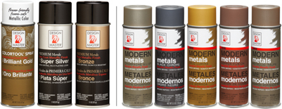 Design Master Metallic <br>Spray Paint