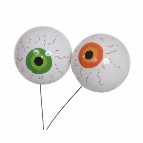 Halloween Eyeball Pick<br>6/Package