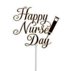 Happy Nurse Day Pick <br>24/Package
