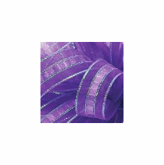 "Ilissa Ribbon <br>5/8"" x 25 Yards <br>Purple/Opal"