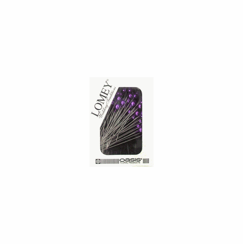 LOMEY® Corsage Pins <br>Purple