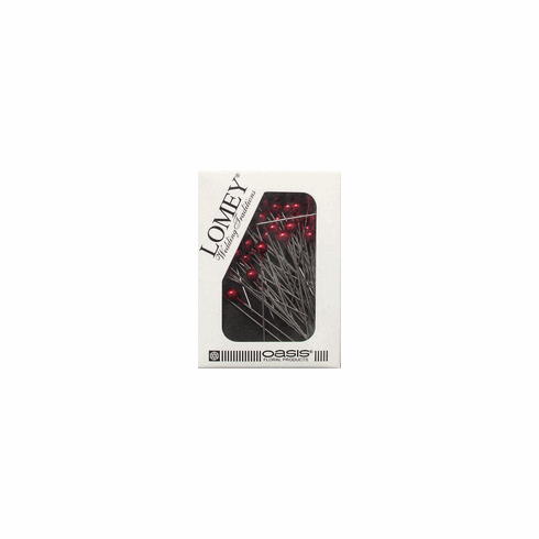 LOMEY® Corsage Pins <br>Red