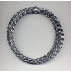 Oasis Diamond Wire  <br> 32 ft. x 12 Gauge <br>Black