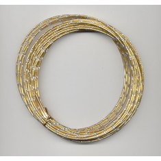 Oasis Diamond Wire   <br>32 ft. x 12 Gauge <br>Gold