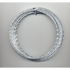 Oasis Diamond Wire   <br>32 ft. x 12 Gauge <br>Silver