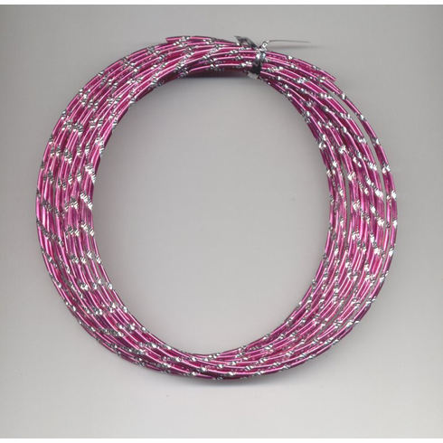 Oasis Diamond Wire   <br>32 ft. x 12 Gauge <br>Strong Pink