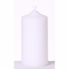 "Pillar Candle <br>2.8"" x 6""<br>Ivory or White <br> 12/Package"
