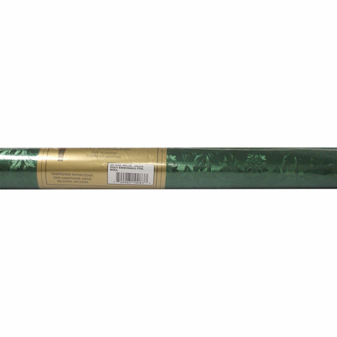 Poly Embossed Foil <br>Moss Green