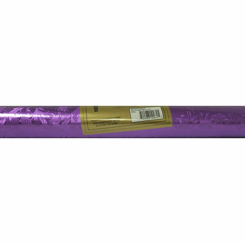 Poly Embossed Foil <br>Purple