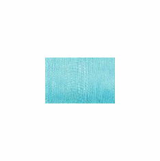 Sheer Ribbon <br>Turquoise <br>Assorted Sizes