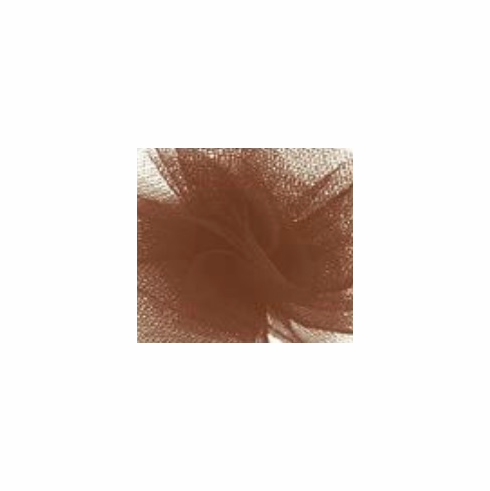"""Tulle - Chocolate Brown <br>6"""" x 25 Yard Roll"""