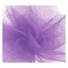 "Tulle - Lavender <br>6"" x 25 Yard Roll"