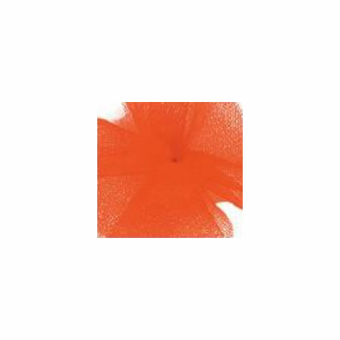 "Tulle - Orange <br>6"" x 25 Yard Roll"