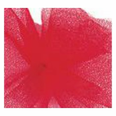 """Tulle - Red <br>6"""" x 25 Yard Roll"""
