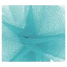 "Tulle - Turquoise <br>6"" x 25 Yard Roll"